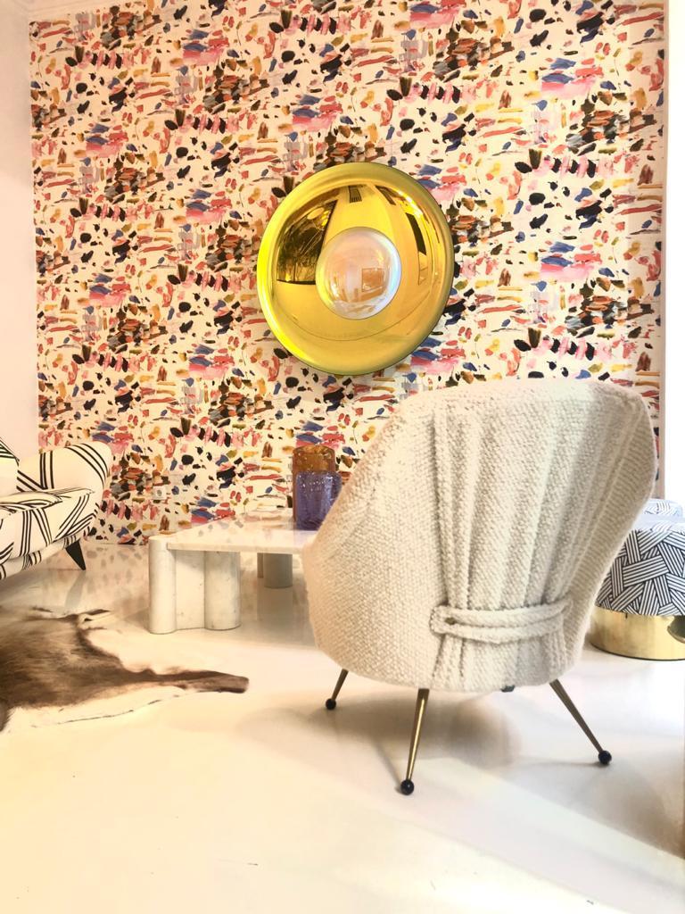 Marco Zanuso by Arflex Mid-Century Modern Mod. Martingala White Italian Armchair For Sale 5