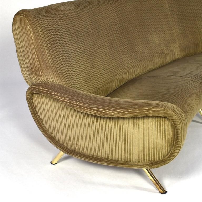 Marco Zanuso Curved 'Lady' Sofa by Arflex, Italy, 1951 For Sale 2