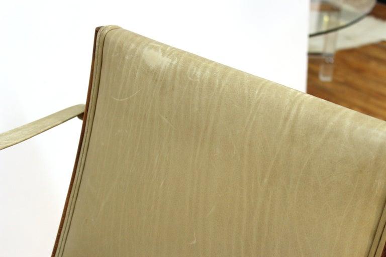 Marco Zanuso for Artflex Italian Mid-Century Modern Folding 'Bridge Chair' For Sale 8