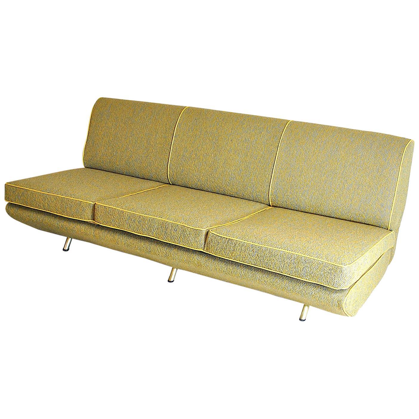 Marco Zanuso Italian Midcentury Sofa from the 1950s