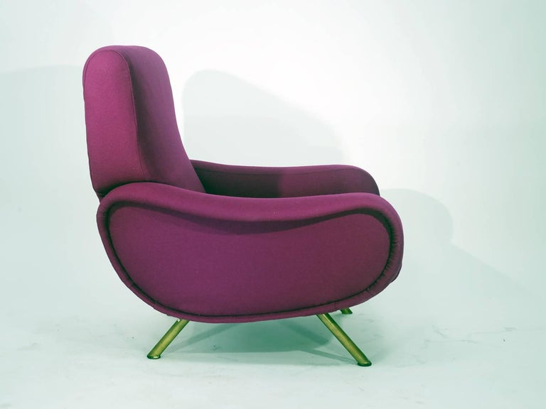 Italian Marco Zanuso Lady Chair by Artflex, 1951
