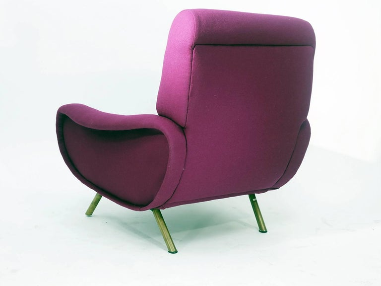 Marco Zanuso Lady Chair by Artflex, 1951 In Excellent Condition In New York, NY