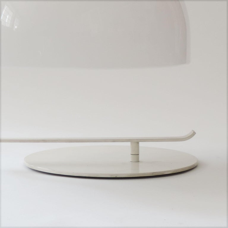 Mid-Century Modern Marco Zanuso Model 275 Table Lamp for Oluce, Italy, 1960s For Sale
