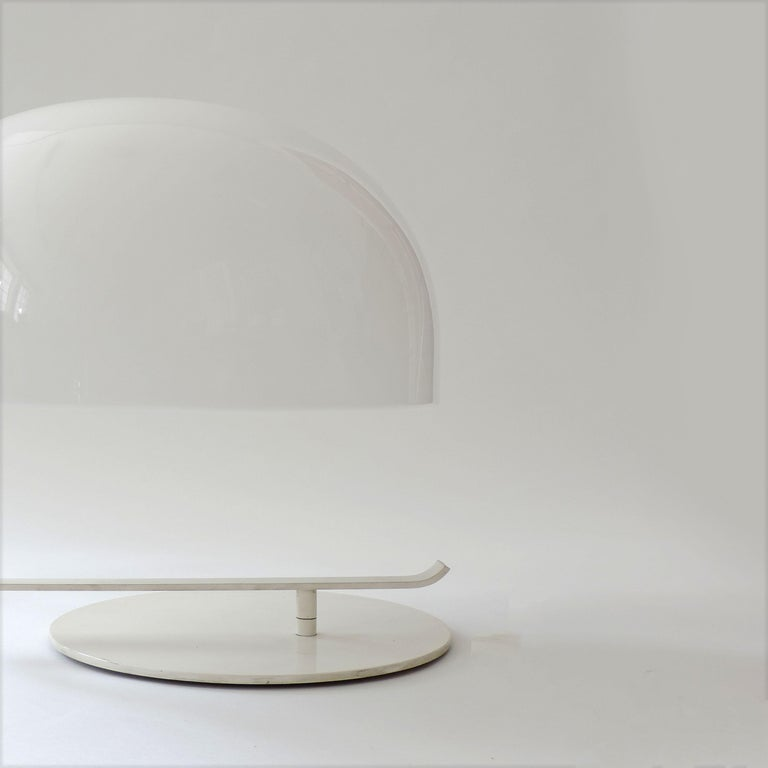 Lacquered Marco Zanuso Model 275 Table Lamp for Oluce, Italy, 1960s For Sale