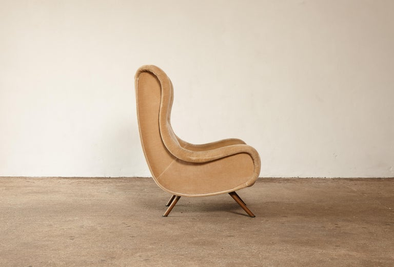 Mid-Century Modern Marco Zanuso Senior Chair, Arflex, Italy, 1960s