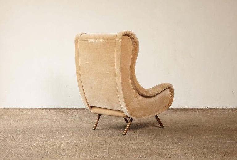 Italian Marco Zanuso Senior Chair, Arflex, Italy, 1960s