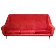 Marco Zanuso Style Sofa