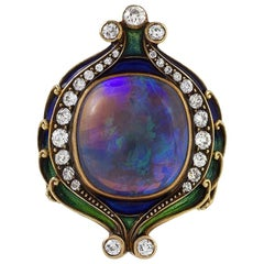 Marcus & Co. Black Opal Ring