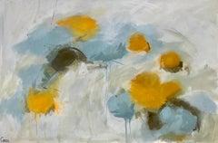 Luminous, Marcy Gregg Large Horizontal Soft Abstract Painting