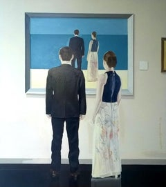 A painting - XXI Century, Contemporary Figurative Oil Painting, Realism