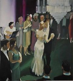 Ball - XXI century, Figurative oil realist painting
