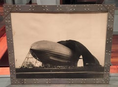 Bourke-White Akron Zeppelin Aviation Machine Age Female Artist Photograph Deco