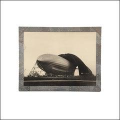 Bourke-White Akron Zeppelin Aviation Machine Age Female Artist Photograph Deco