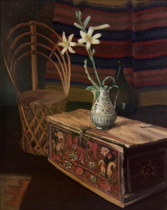 Exceptional Southwest still life oil painting by Margaret Ewert
