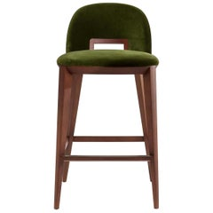 Margaret Green Stool by Cesare Arosio