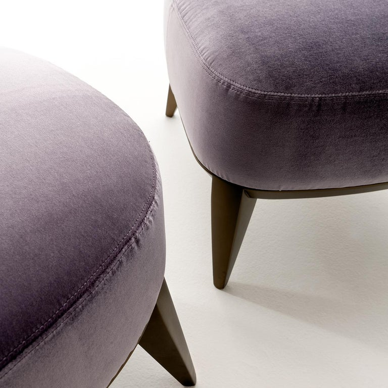 Modern Margaret Pouf by Cesare Arosio For Sale