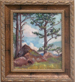 Early 20th Century Landscape --Pacific Coast Summer
