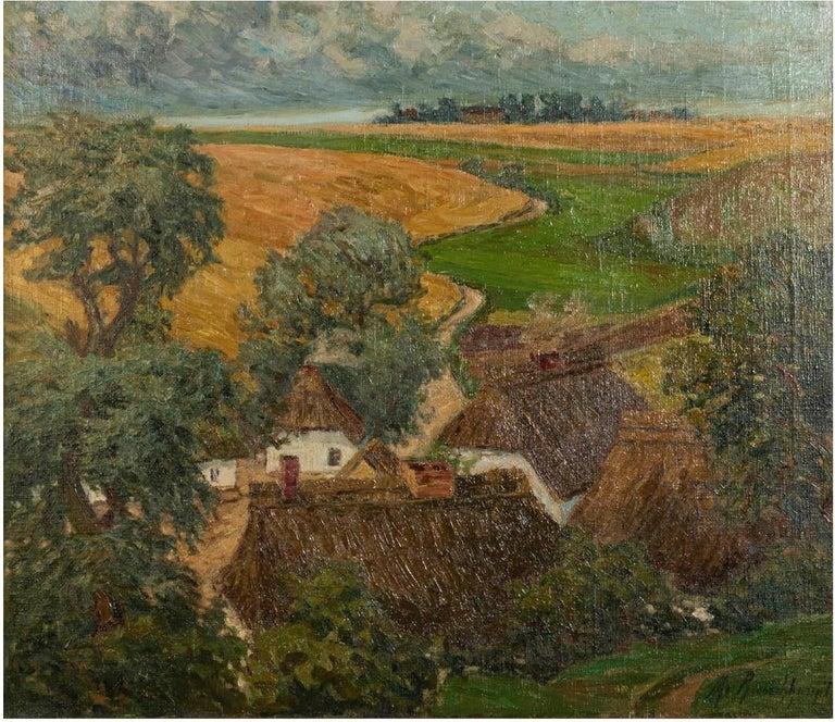 19th Century Margarethe Von Rauchhaupt 'xx' Oil on Canvas For Sale