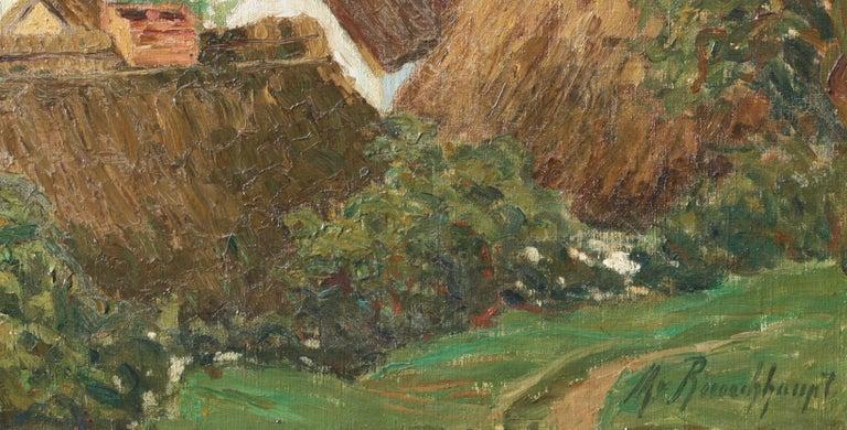 Margarethe Von Rauchhaupt 'xx' Oil on Canvas For Sale 1