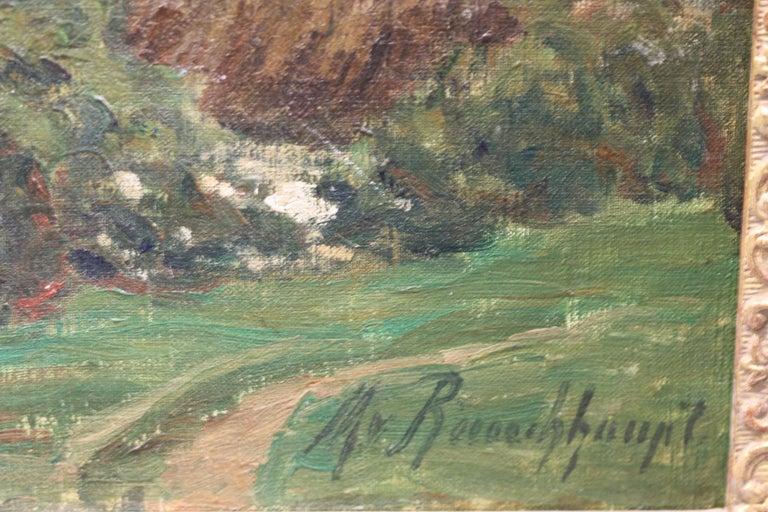 Margarethe Von Rauchhaupt 'xx' Oil on Canvas For Sale 3