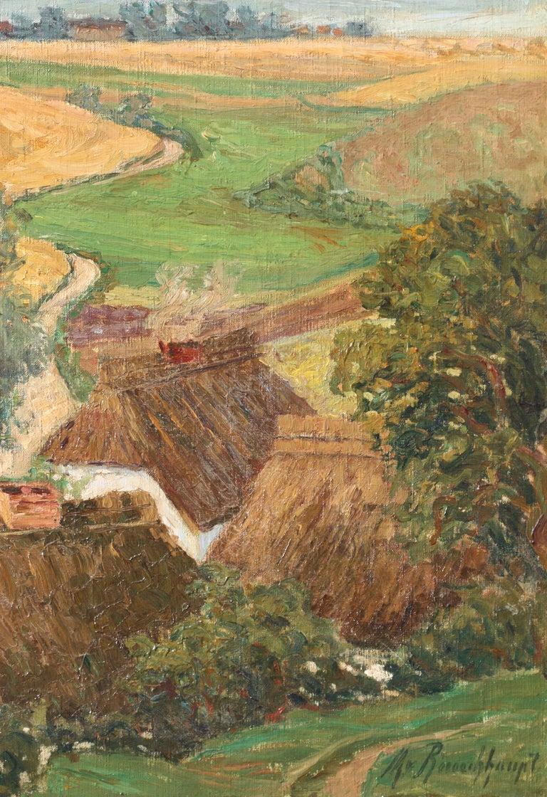 Margarethe Von Rauchhaupt 'xx' Oil on Canvas For Sale 5