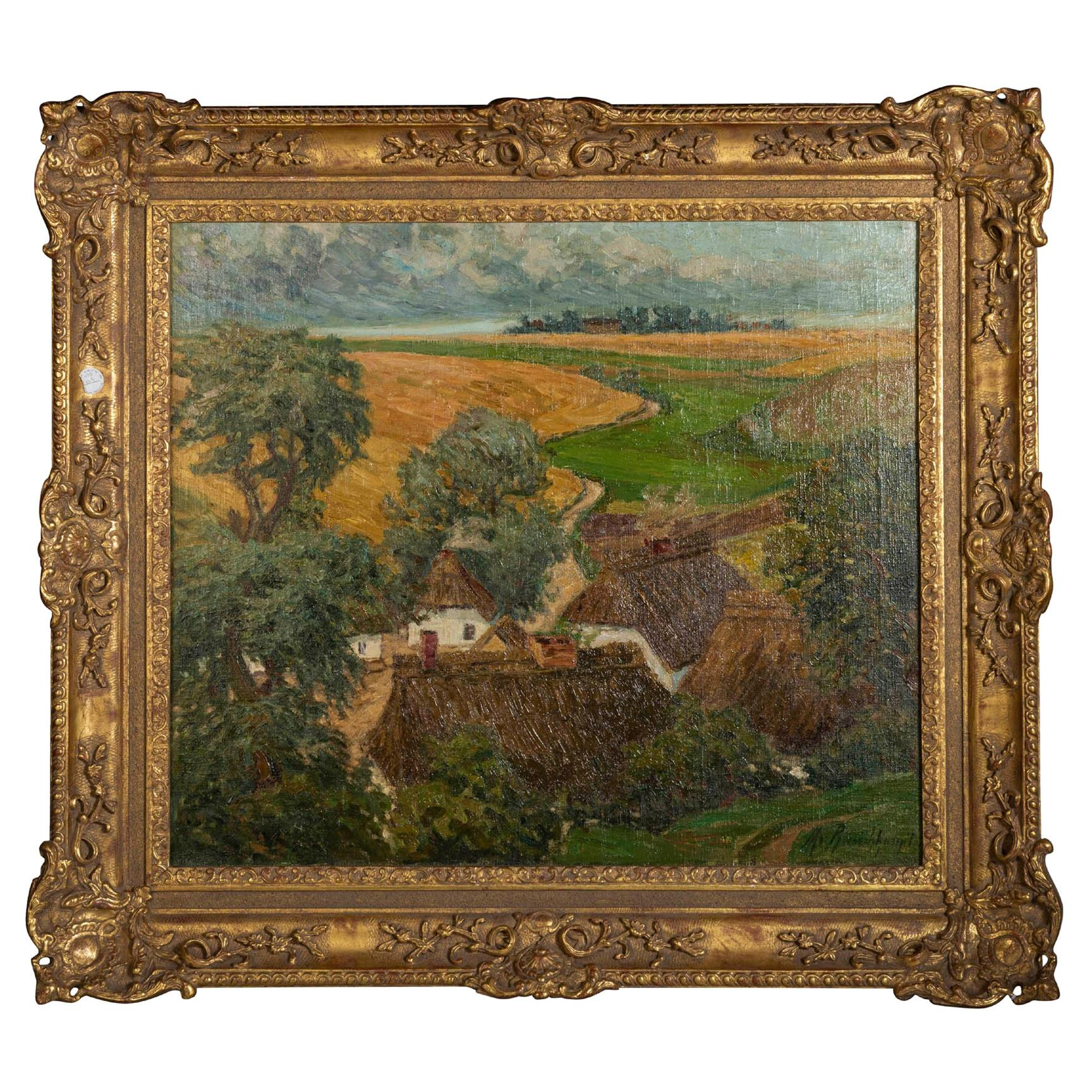 Margarethe Von Rauchhaupt (XX) Oil on Canvas