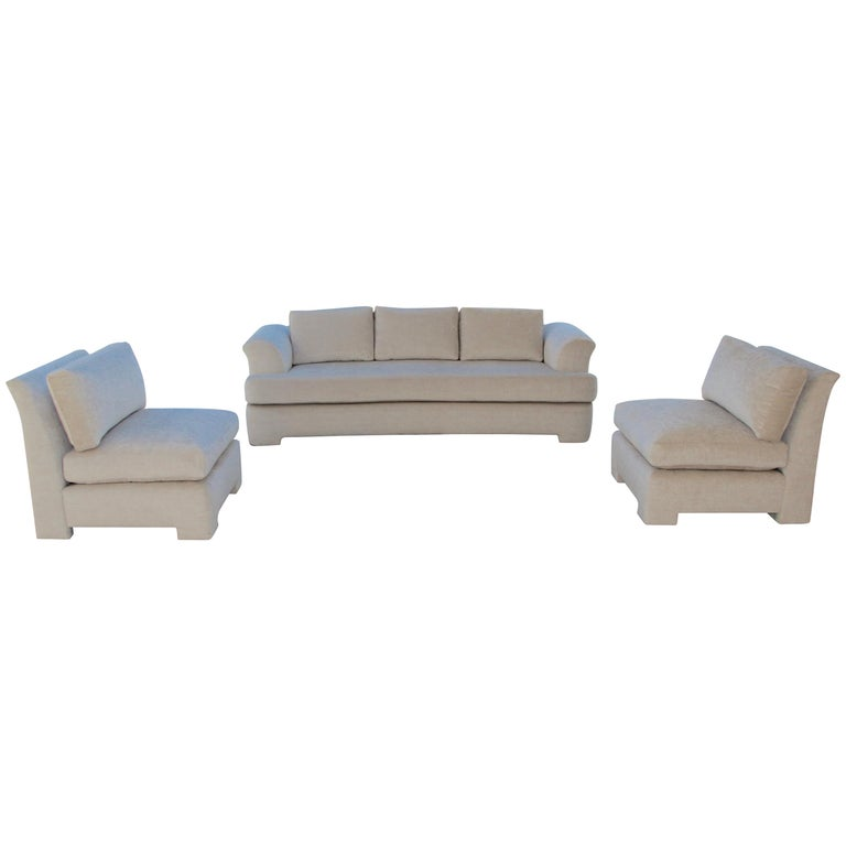Marge Carson Sofa And Chairs For