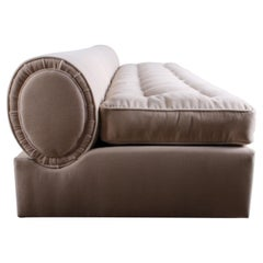 Marge Carson Slipper Sofa in Mohair
