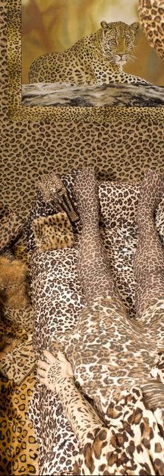 Decorum - Silk Leopard Animal Print Scarf