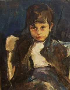 Boy Seated in a Chair