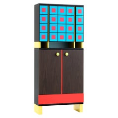 MARGHERITA Cabinet by George J. Sowden by Post Design Collection/Memphis