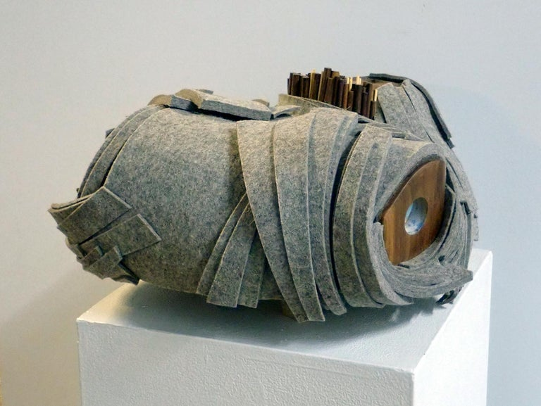 Far From Home - Sculpture by Margie Criner