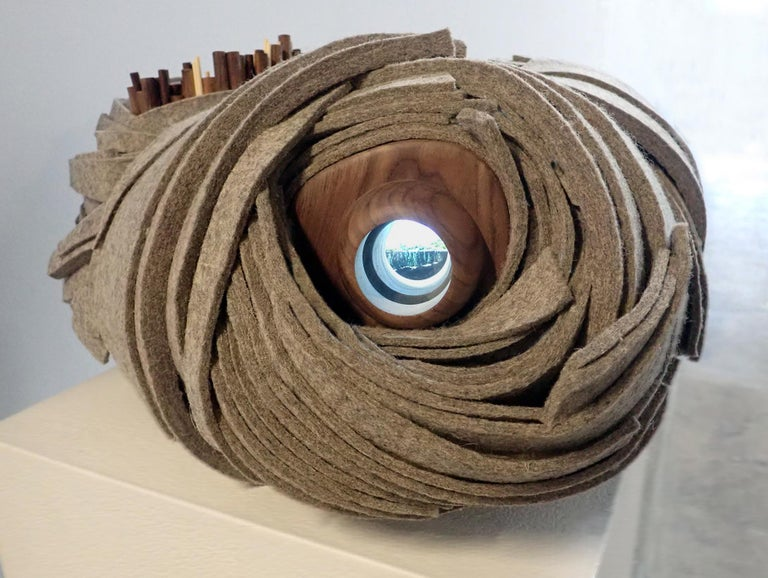 Margie Criner Still-Life Sculpture - Far From Home
