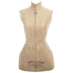 Margiela Linen Semi Couture Stockman Corset, fw 1997
