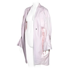 Margiela pink cotton oversized deconstructed folded shirt, ss 2001