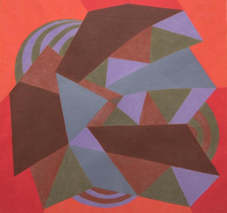 Carnival Series: ZigZag - Mixed Media Art by Margo Hoff