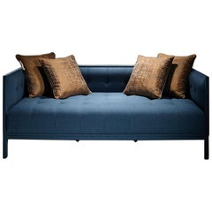 Margot Contemporary Sofa with Six Cushions by Luísa Peixoto