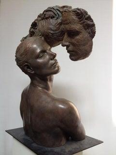 Anima Animus Bronze Sculpture Contemporary Connected