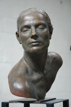 La Speranza Hope Bronze Sculpture Classic Head In Stock