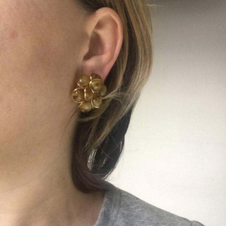 MARGUERITE DE VALOIS Clip-on Earrings For Sale 2