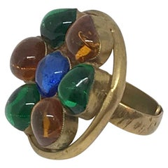Marguerite De Valois Multicolored Ring