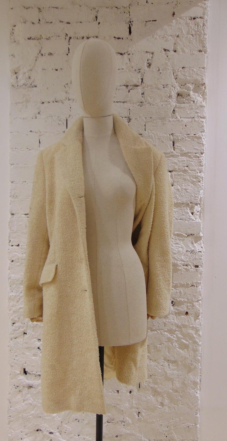 Mari Beije Wool Coat For Sale 2