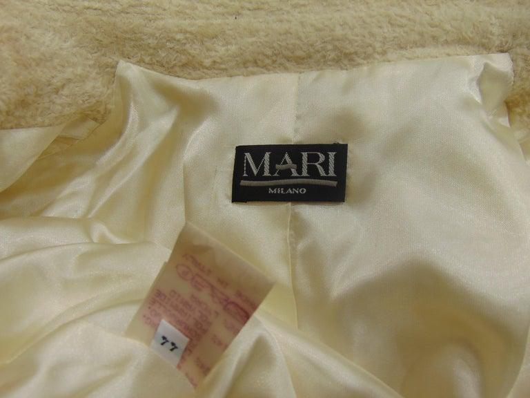 Mari Beije Wool Coat For Sale 3