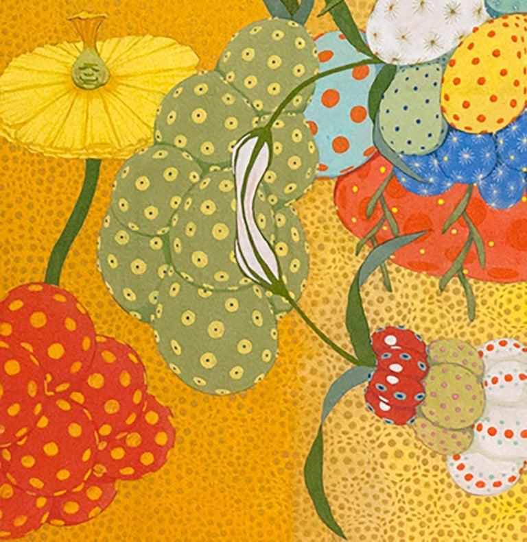 Arcoíris Amarillo - 21st Century, Contemporary, Figurative Painting, Japanese For Sale 2