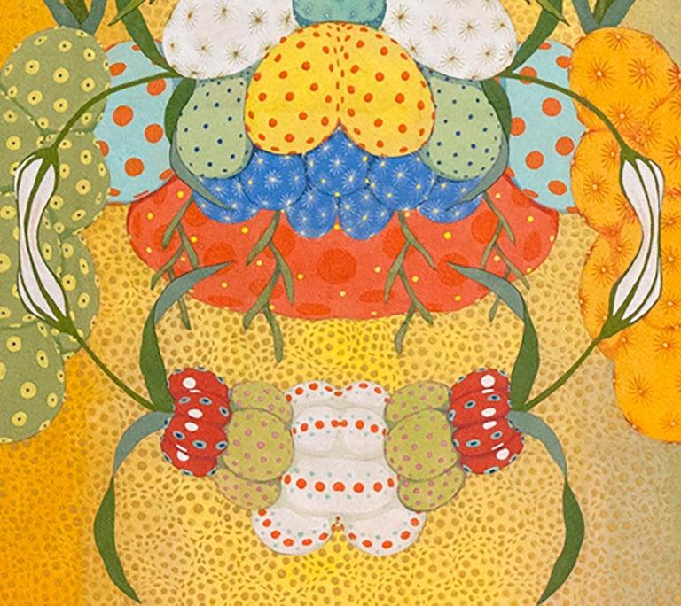Arcoíris Amarillo - 21st Century, Contemporary, Figurative Painting, Japanese For Sale 4