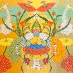 Arcoíris Amarillo - 21st Century, Contemporary, Figurative Painting, Japanese