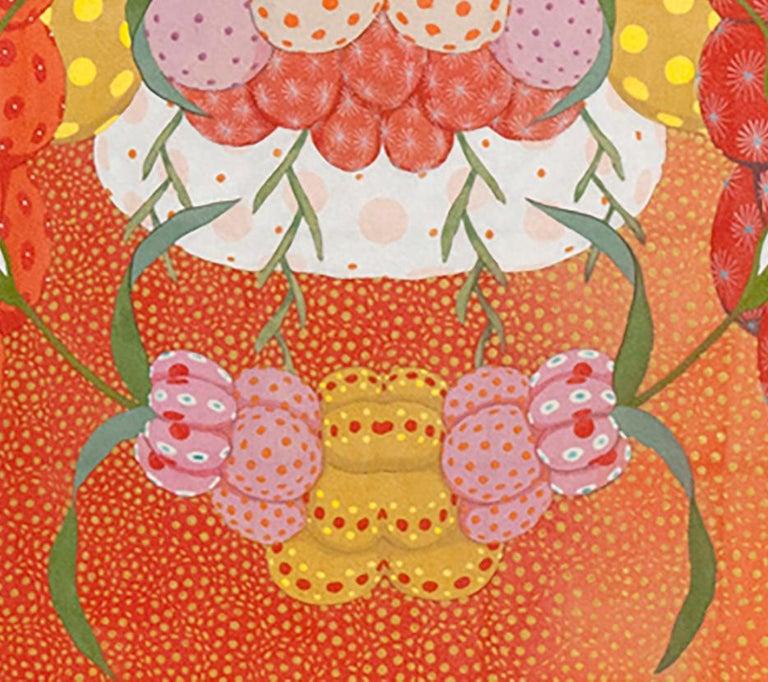 Arcoíris Rojo - 21st Century, Contemporary, Figurative Painting, Japanese Art For Sale 4