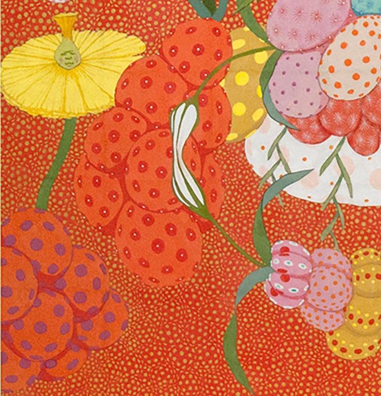Arcoíris Rojo - 21st Century, Contemporary, Figurative Painting, Japanese Art For Sale 6