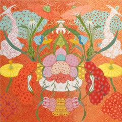 Arcoíris Rojo - 21st Century, Contemporary, Figurative Painting, Japanese Art