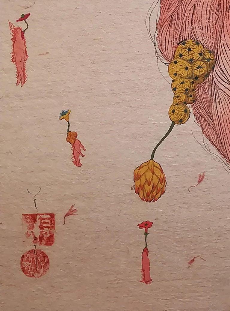 En La Confusión - 21st Century, Contemporary, Figurative Painting, Japanese Art 2
